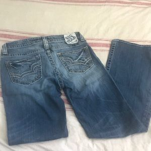 Big star jeans Maddie mid rise boot cut 27L